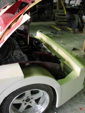 Ferrari из Acura.. Смотрим как из Акуры делают Ферари (114 фото)