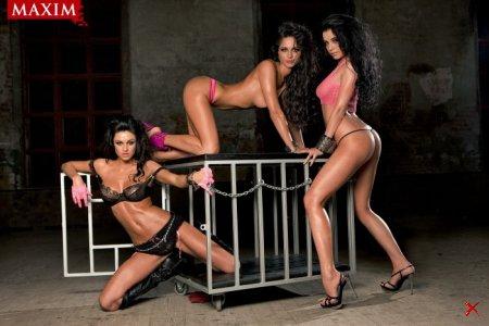 Группа «Подиум» в журнале Maxim (6 фото)