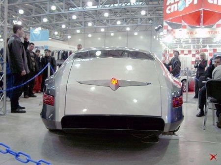 """Новый автомобиль """" Победа """""""