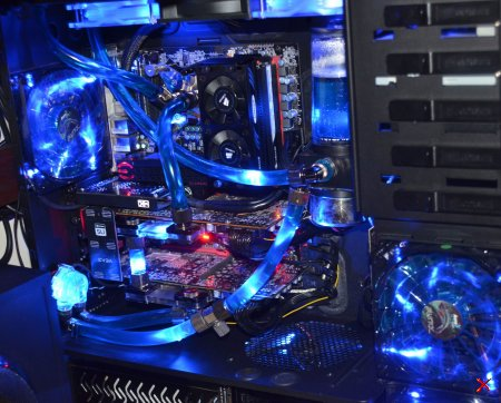 Моддинг компьютеры с водяным охлаждением...