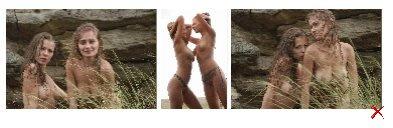 Серия Эротических фото про двух девушек (60 фоток)