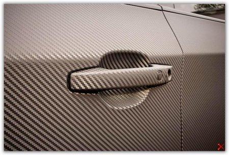Как правильно клеить карбоновую пленку на автомобиль