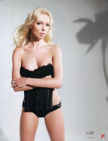 фигуристка Татьяна Тотьмянина в журнале Playboy за февраль 2014