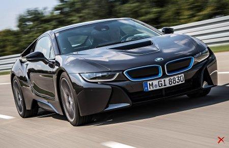 BMW I8 REVEALED