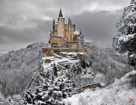 Волшебные зимние пейзажи 38 Foto