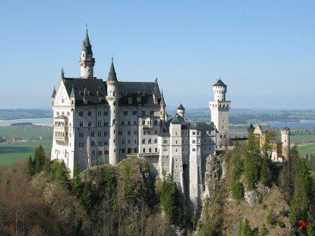 Замок Нойшванштайн ( Schloß Neuschwanstein)