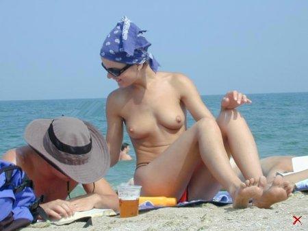 Лето, Пляж, Девушки и много сисек 18+