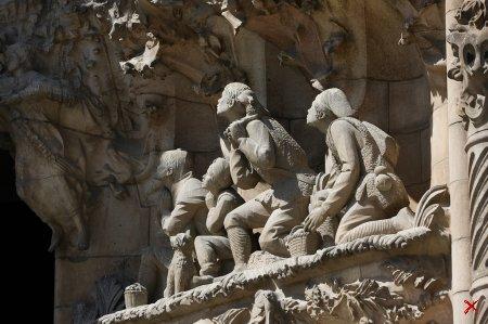 Саграда Фамилия в Барселоне