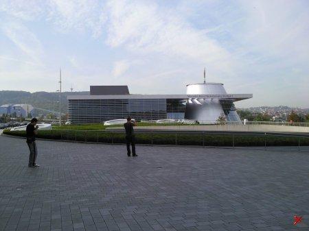 Музей Мерседес-Бенц в Штутгарте (Я сам Фоткал)
