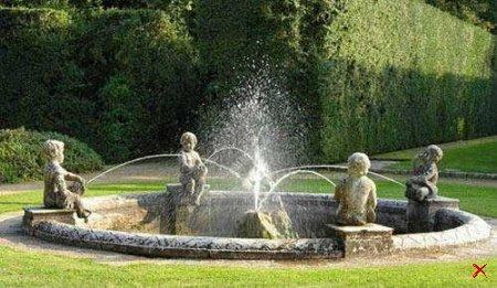 Необычные и эротические фонтаны