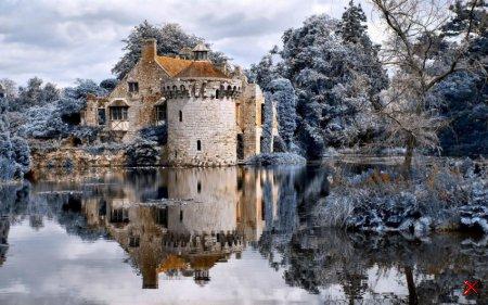 Замок Скотни, Великобритания