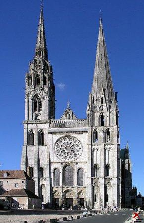 Шартрский собор ( Cathédrale Notre-Dame de Chartres )