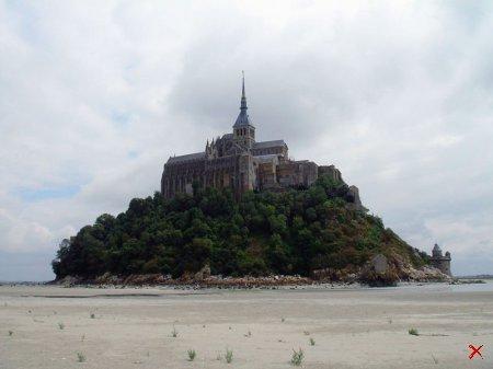 Мон Сен Мишель (Mont Saint-Michel) Нормандия, Франция