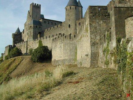 Крепость Каркассон , Франция
