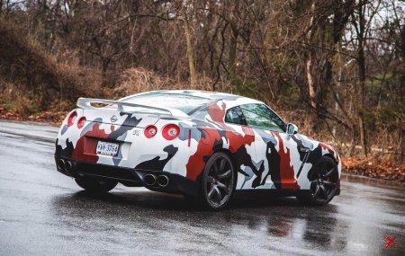Nissan GTR в Камуфляже