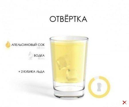 Рецепты алкогольных коктейлей