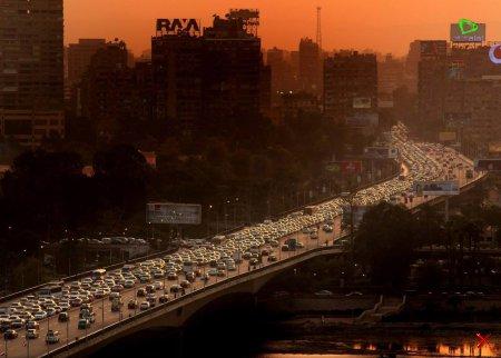 Закат в Каире, Египет