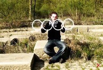 Классня иллюзия с кольцами...