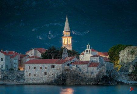Ночная Будва , Черногория