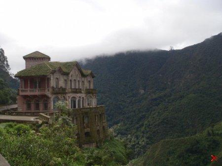 Заброшенный отель Refugio El Salto в Колумбии