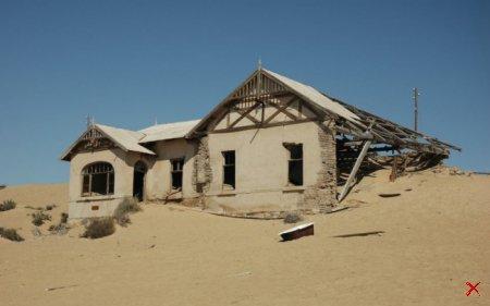 Город-призрак Колманскоп, Намибия