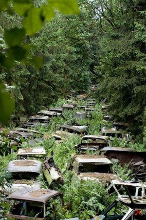 Кладбище автомобилей, Арден, Бельгия