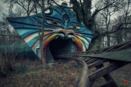 Парк аттракционов Speerpark, Берлин, Германия