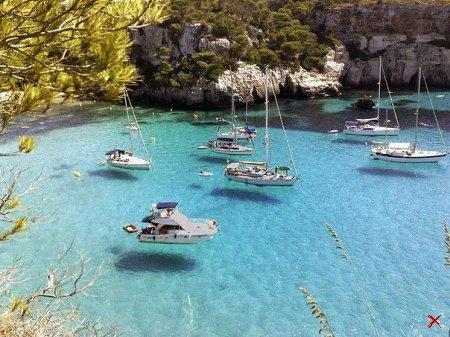 Бухта на Итальянском острове - Лампедуза
