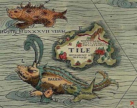 Туле . Загадочный остров.