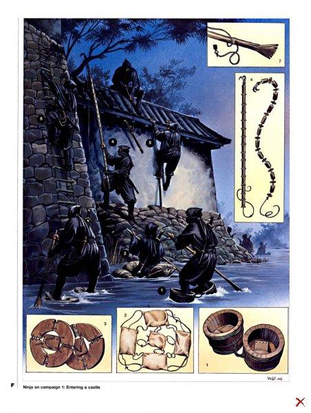 Нинзя - японские воины-ассасины
