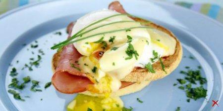 Завтрак за 5 минут яйца Бенедикт