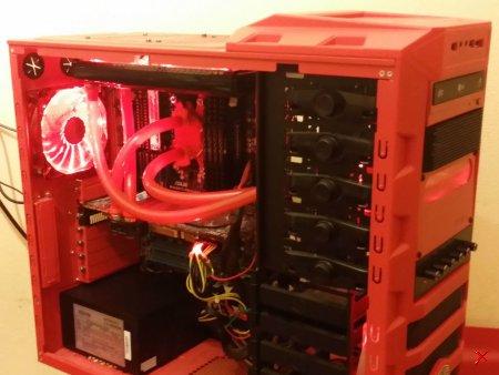 GAMER AMD SIX CORE PC mit Wasserkühlung, GTX 480, 16 GB DDR3 RAM