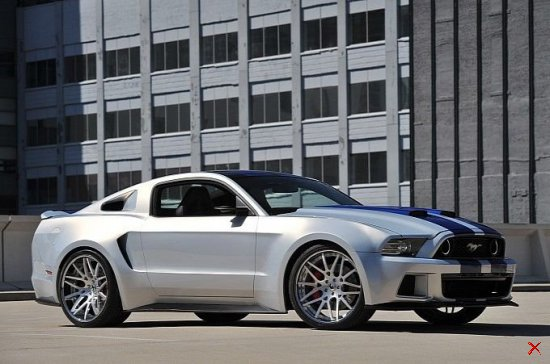 Ford Mustang Shelby GT500 из фильма Need For Speed
