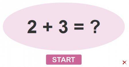 Проверь на сколько быстро ты умеешь выполнять простейшие математические операции