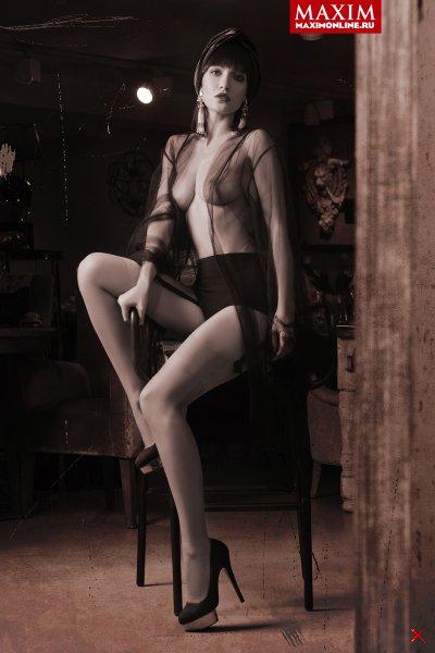 Евгения Брик в журнале Maxim
