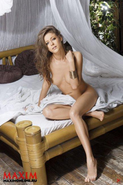 Антонина Комиссарова в журнале Максим