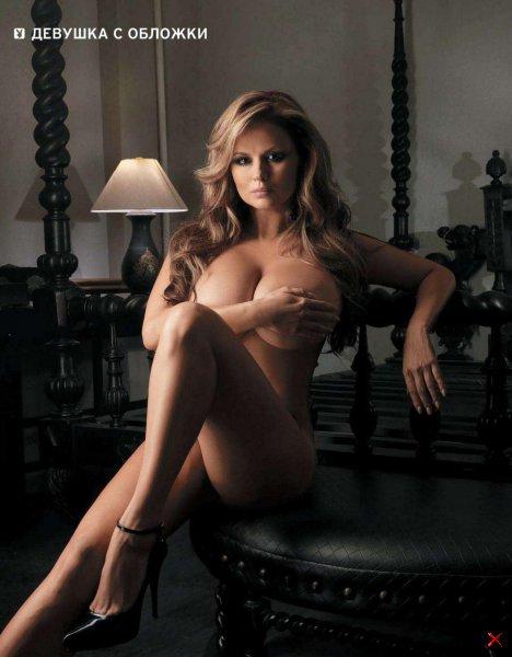 Анна Семенович в журнале Playboy