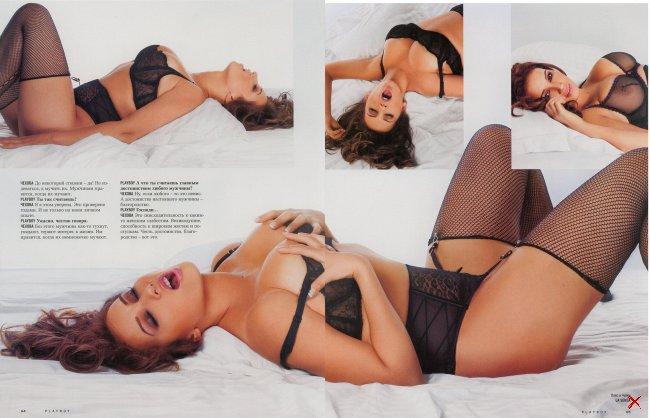Анфиса Чехова в журнале Playboy