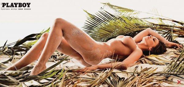 Вики Ленкеи в журнале Playboy